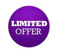 Limited Offer - Circle Badge Purple