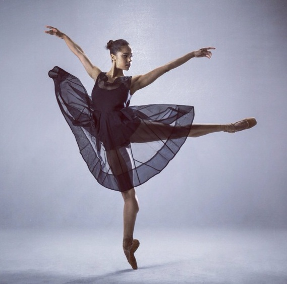 Misty Copeland of the American Ballet Company